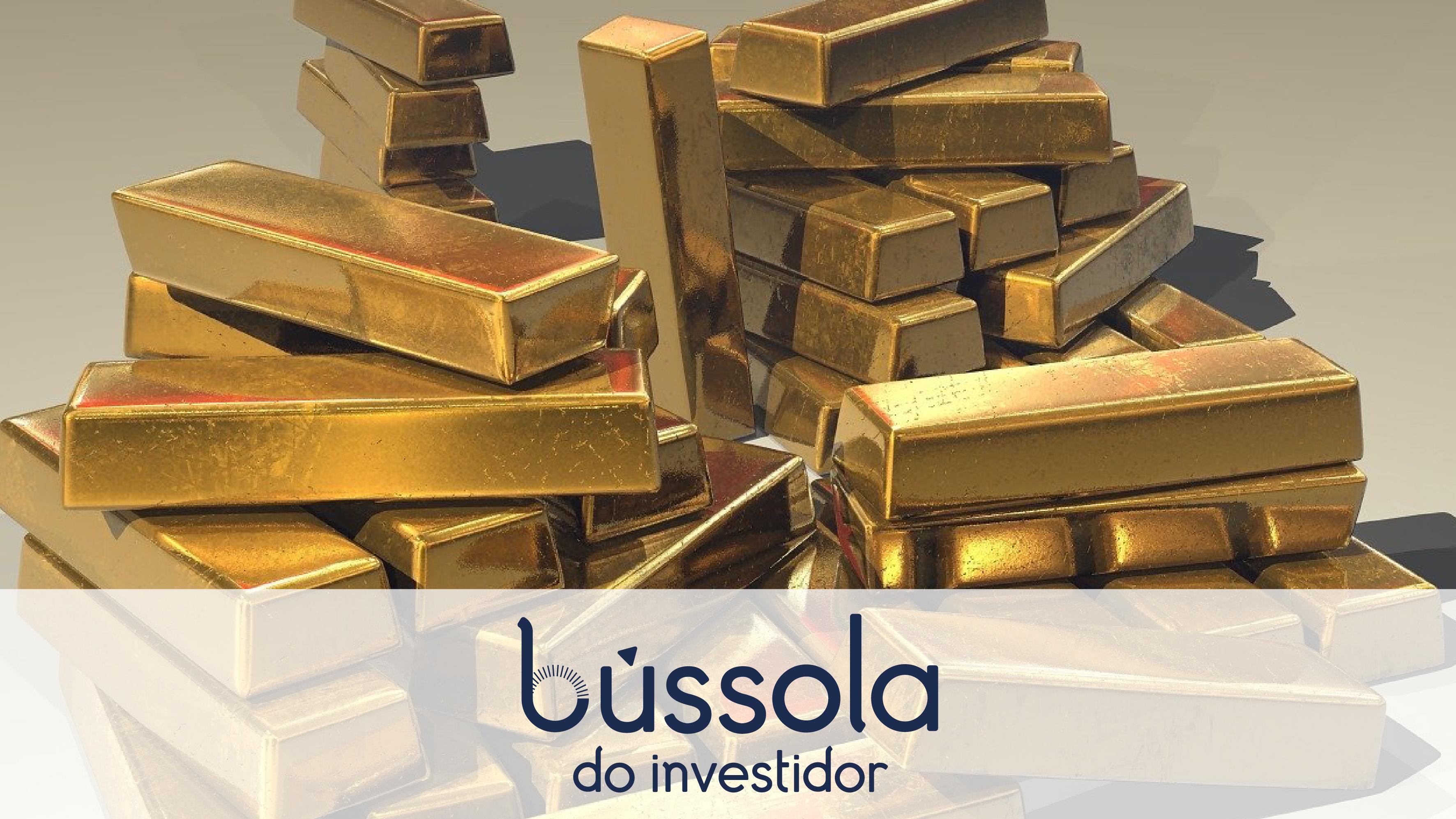 Barras de ouro para quem quer investir em ouro