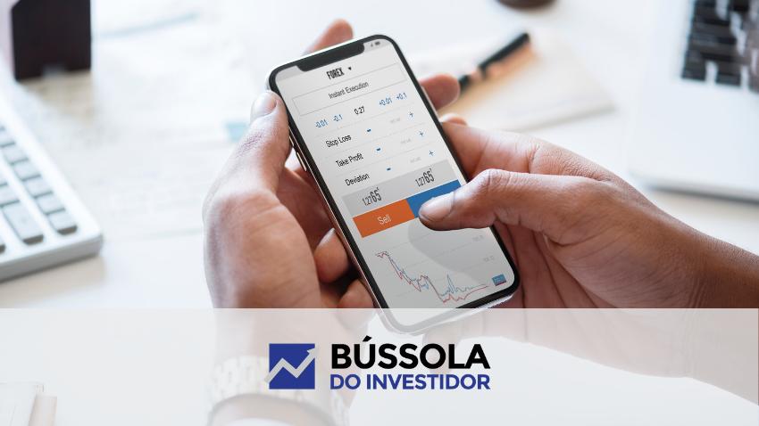 aplicativo automatizado de negociação de ações