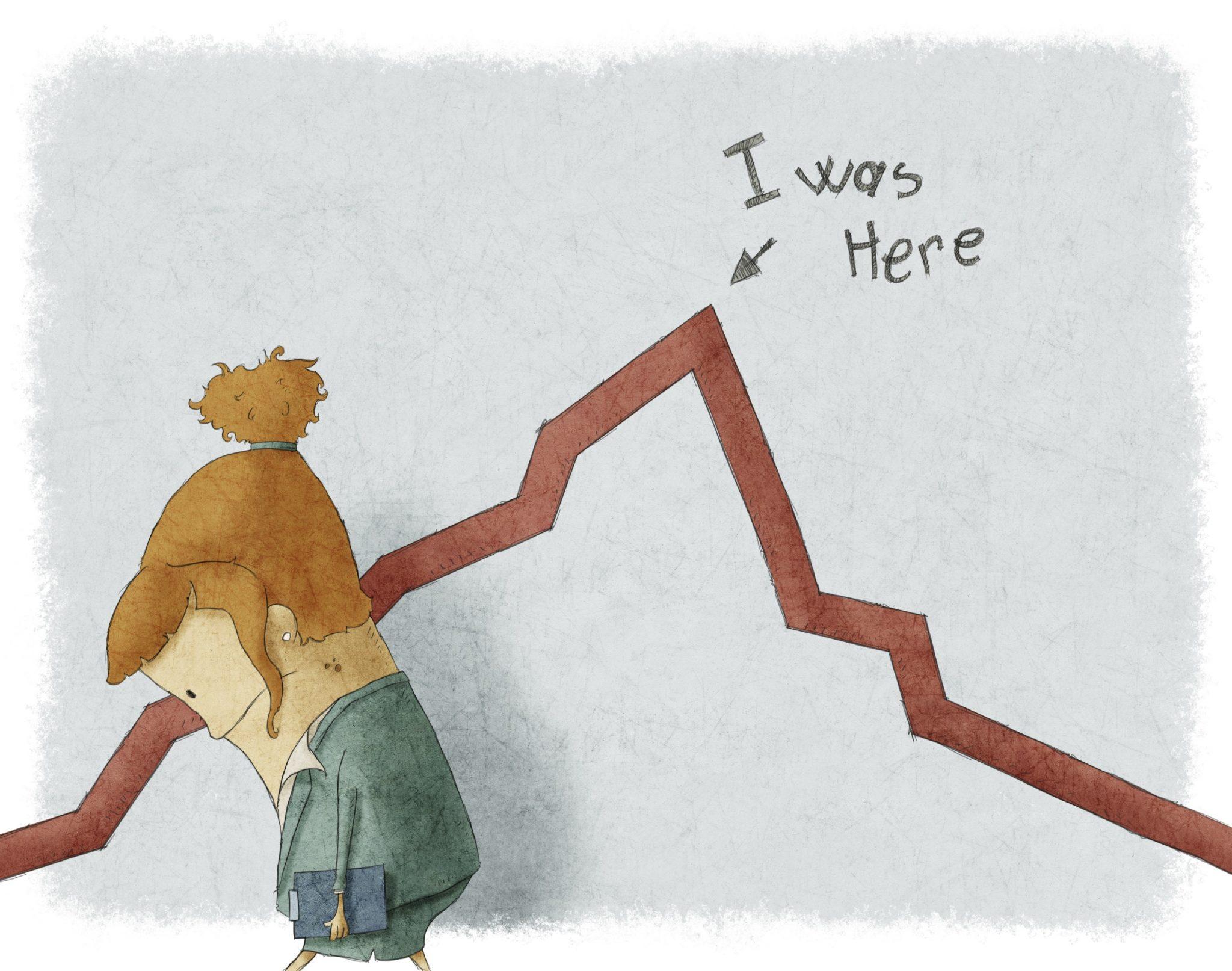 perdas na bolsa de valores
