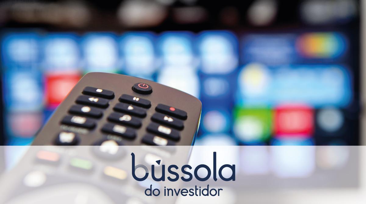 Controle Remoto apontando para TV