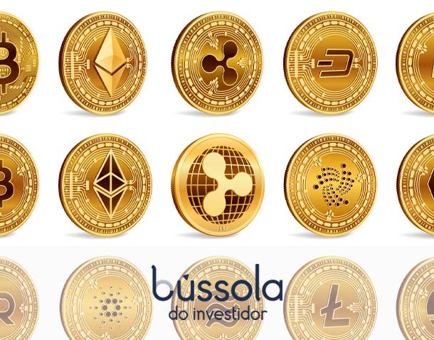 Bitcoin e Ethereum são duas das criptomoedas mais famosas